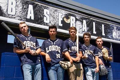 2019 Baseball Boys Senior Photos