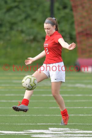 2019 CHS JV Girls Soccer - Cedar Falls