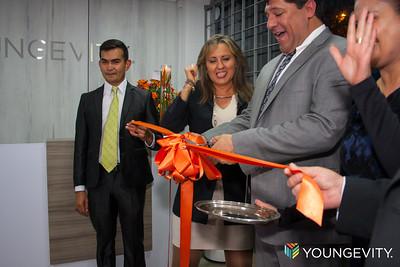 Ceremonia Corte de Listón Youngevity Colombia