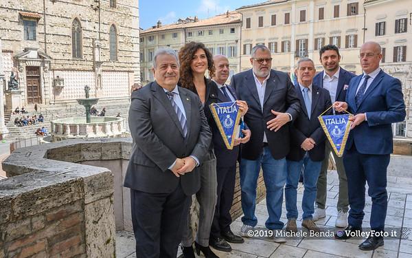20190409 Presentata la tappa di Perugia della VNL 2019