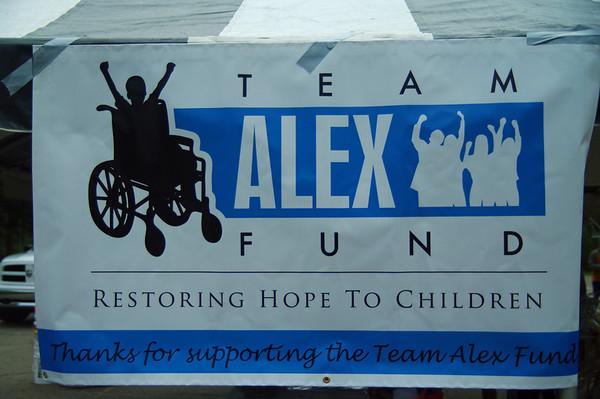Team Alex 5K and 5 Mile Run April 28, 2012