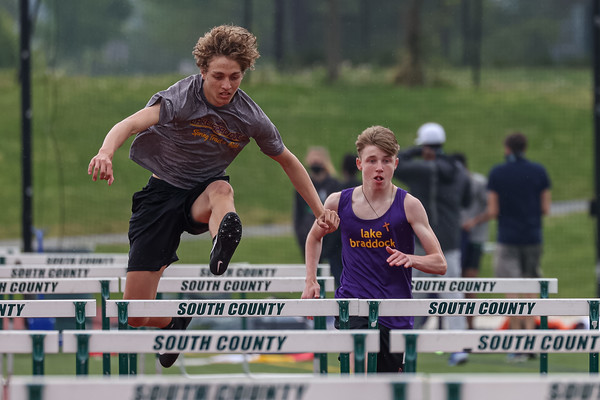 Boys Track & Field at South County Invitational 5/3/21