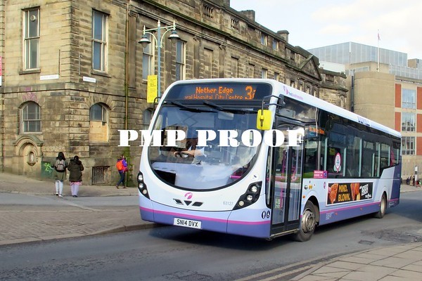 SHEFFIELD BUSES MARCH 2018