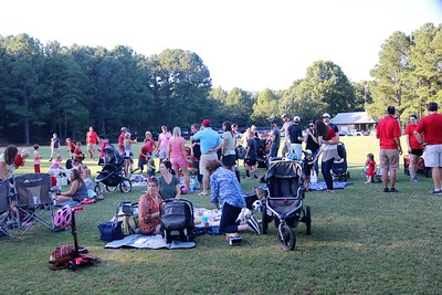 2019 Sept 20 Picnic with UGA Marching Band