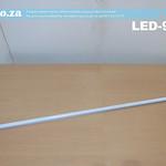 SKU: LED-900, 900mm Width LED Tube with Blue Light Illumination 24V DC