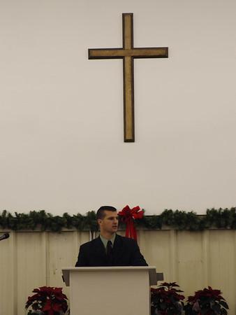 Pastor Brian Parker