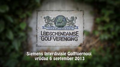 Siemens Interdivisie Golftoernooi 2013