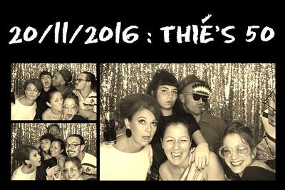 Thie's 50th Birthday Party -  20 Nov 2016
