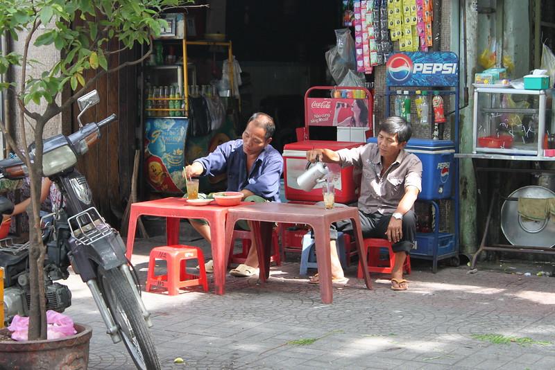 Street-side tea