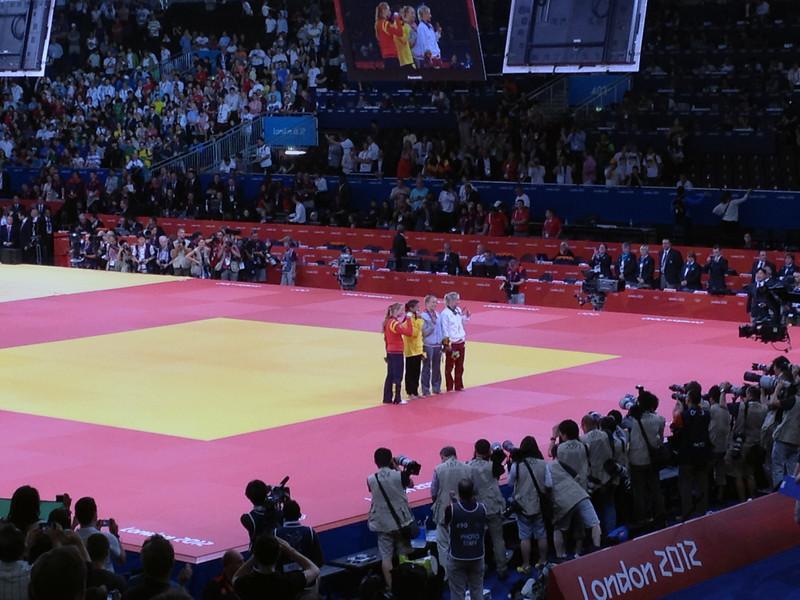 Judo medalists