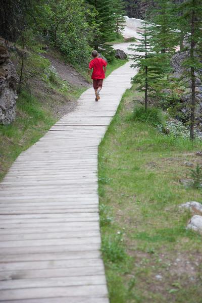 Running From the Sulphur