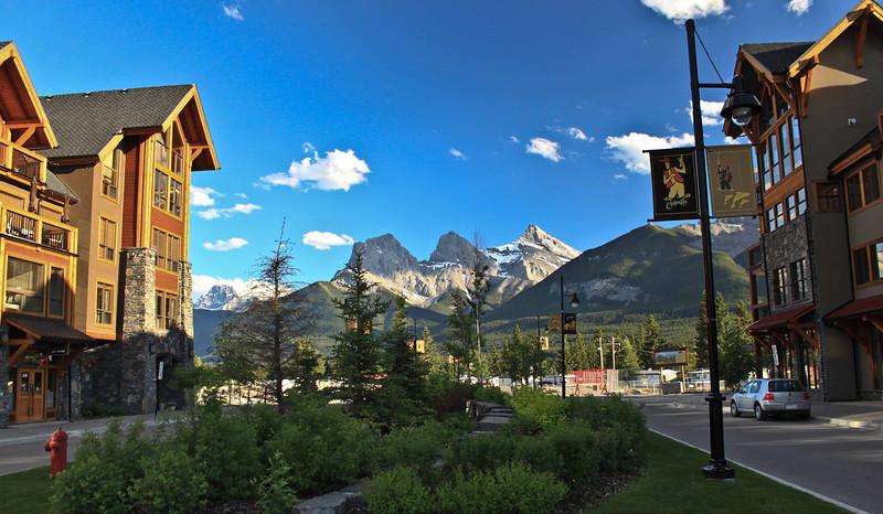 """Spring Creek Driveway"" - Canmore Alberta"