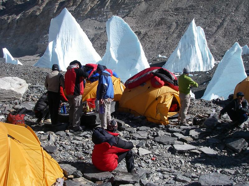 IC - No restoran tent