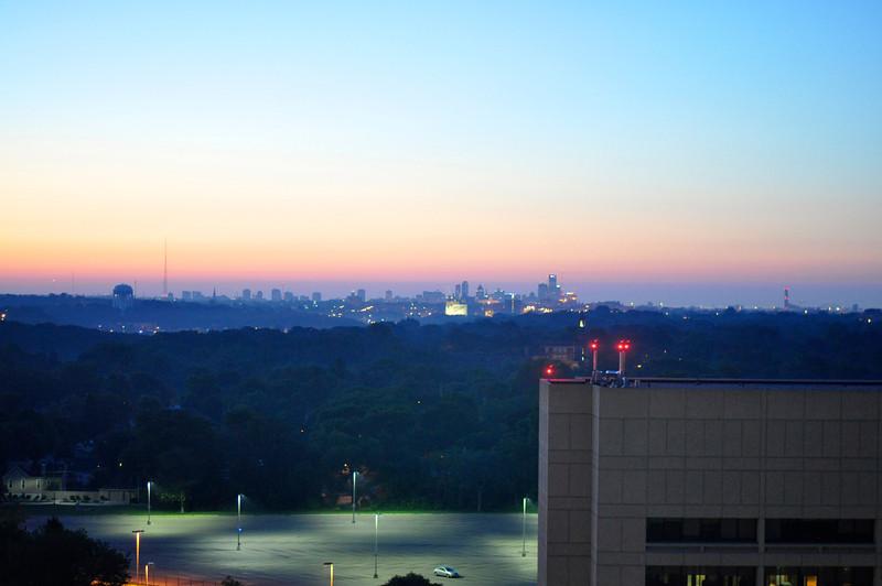 Dawn over Milwaukee