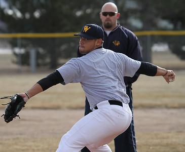 Baseball team Saturday practice
