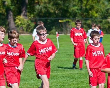Mustang Soccer 2009 - Teams: Flash & Wolverines