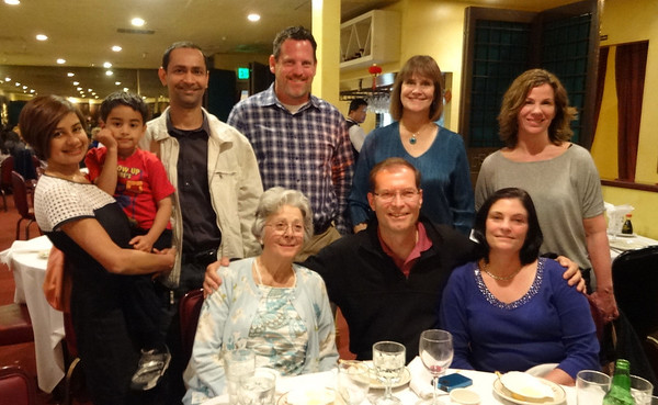Connie Weaver's farewell dinner 2014