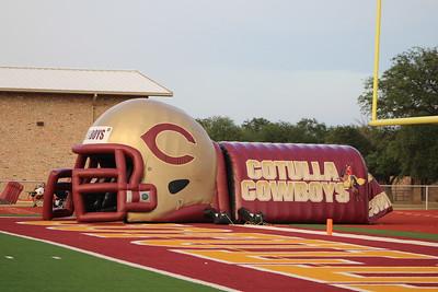 Mustang Varsity Football vs Cotulla 092217
