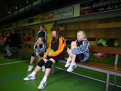 20060613 Dames D Jeugd 1 Zaalkampioen