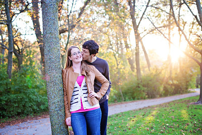 Kelly & Zach {engagement session}