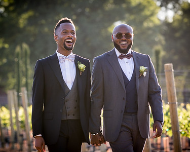 TV Personality Montre Burton's Wedding