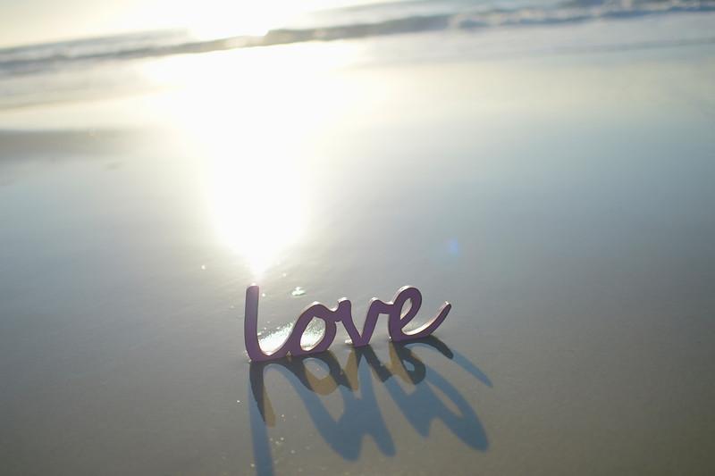 Love at the beach.