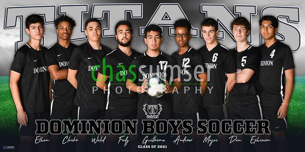 2021 Dominion Boys Soccer