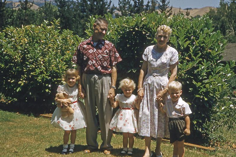 Grandpa and Grandma and Kids