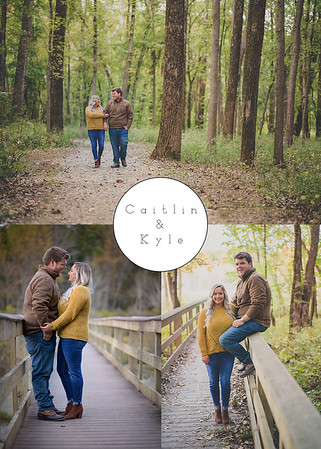 Caitlin and Kyle Evansville Engagement