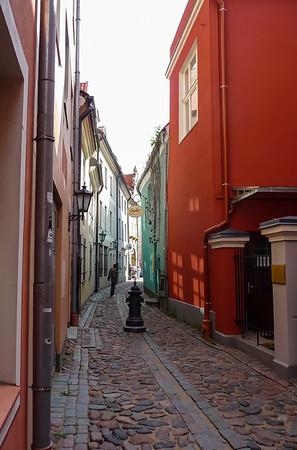 Riga Street, Latvia