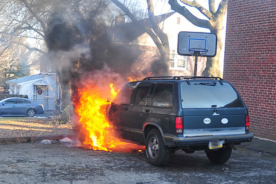Vehicle Fire - Springfield Twp.
