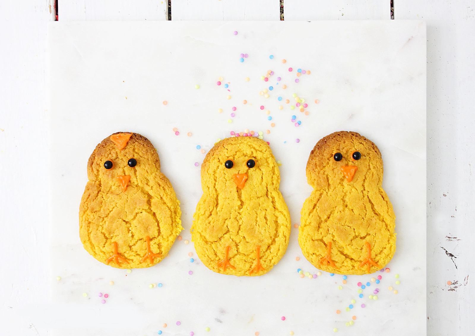 Adorable Baby Chick Easter Sugar Cookies
