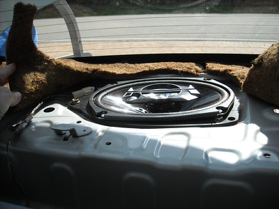 2000 Toyota Echo Rear Speaker Installation