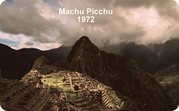 Machu Picchu 1974