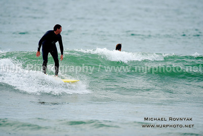 Surfing, The End, Chris and Debra 10.19.13