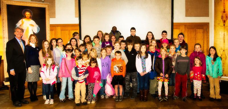 St. Peter Homeschoolers - Libertytown MD - Nov 21, 2013