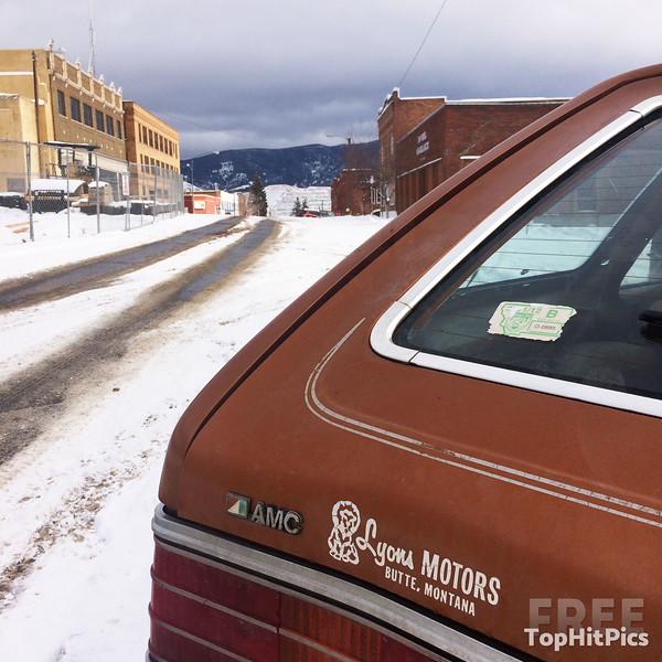 A Lyon Motors AMC Vintage Car in Butte, Montana