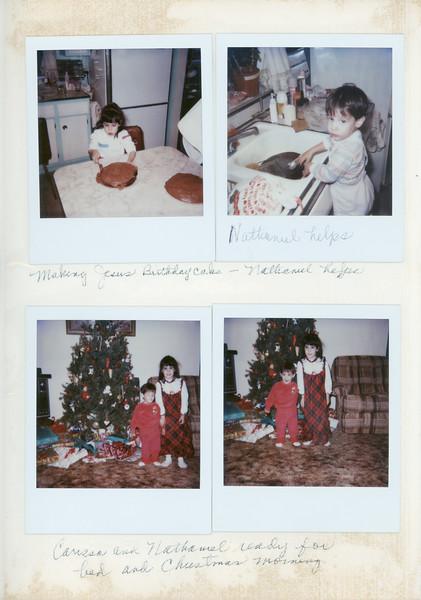 Wingate Photo Album 1986-1987