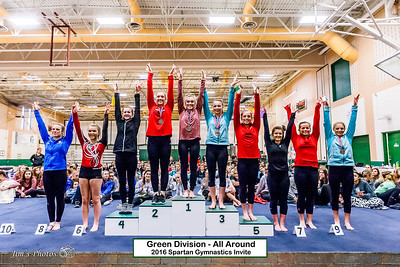 HS Sports - Gymnastics - Spartan Invite - Jan 30, 2016