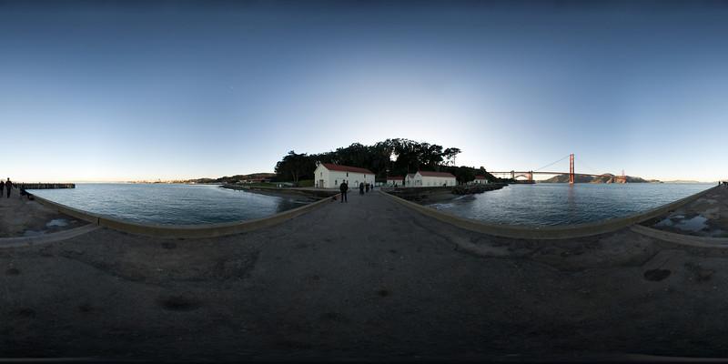 Chrissy Field, Golden Gate Bridge