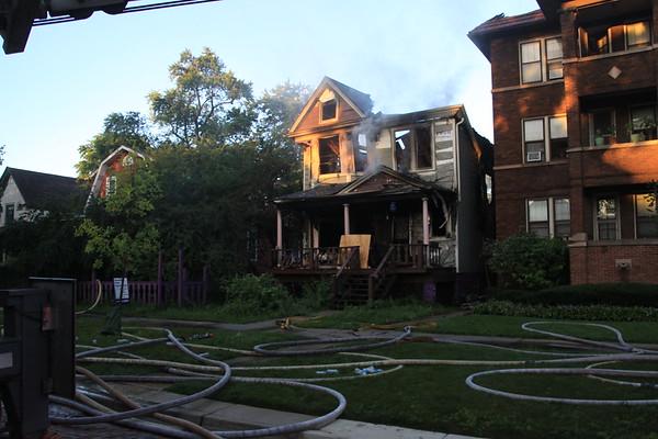 Oak Park 3-11 Alarm Fire