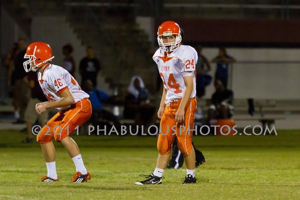 Boone JV Football #26- 2011