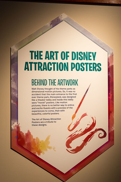 Epcot International Festival of the Arts - Art of Disney Attraction Posters - Magic Kingdom Walt Disney World