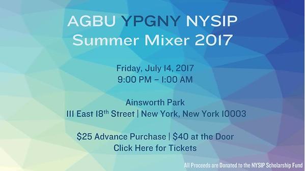 NYSIP Summer Mixer