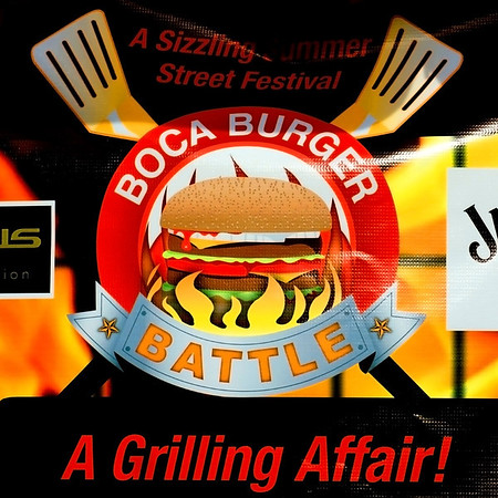 Boca Burger Battle, 2012, Boca Raton July 14 7-10pm, thousands attenting this year's event