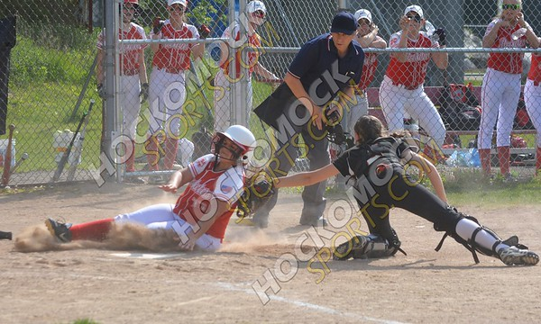 North Attleboro - Stoughton Softball 5-20-16