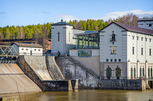 Rånåsfoss Power Station /  Rånåsfoss Kraftverk