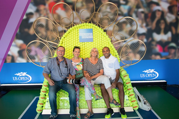 Good time with friends at US Open - September 7, 2016