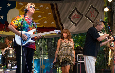 David LaFlamme performing music of It's a Beautful Day at the Oregon Country Fair