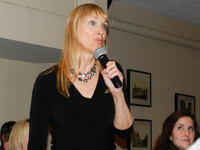 Cynthia Speaking
